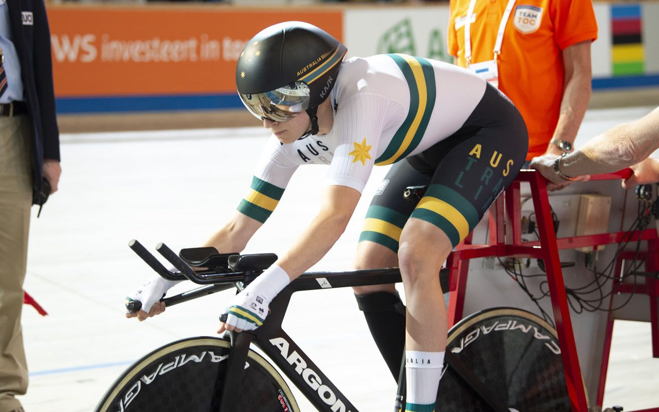 Aussies land in Milton ahead of Track Worlds