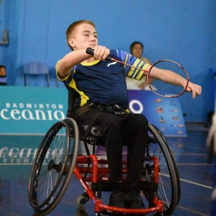 Victory at the Oceania Para Badminton Championships