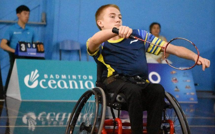 Victory at Oceania Para-badminton Championships