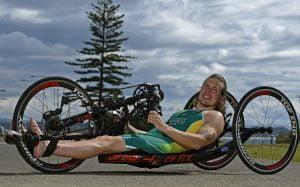 Image of australian para-athlete Nic Beveridge