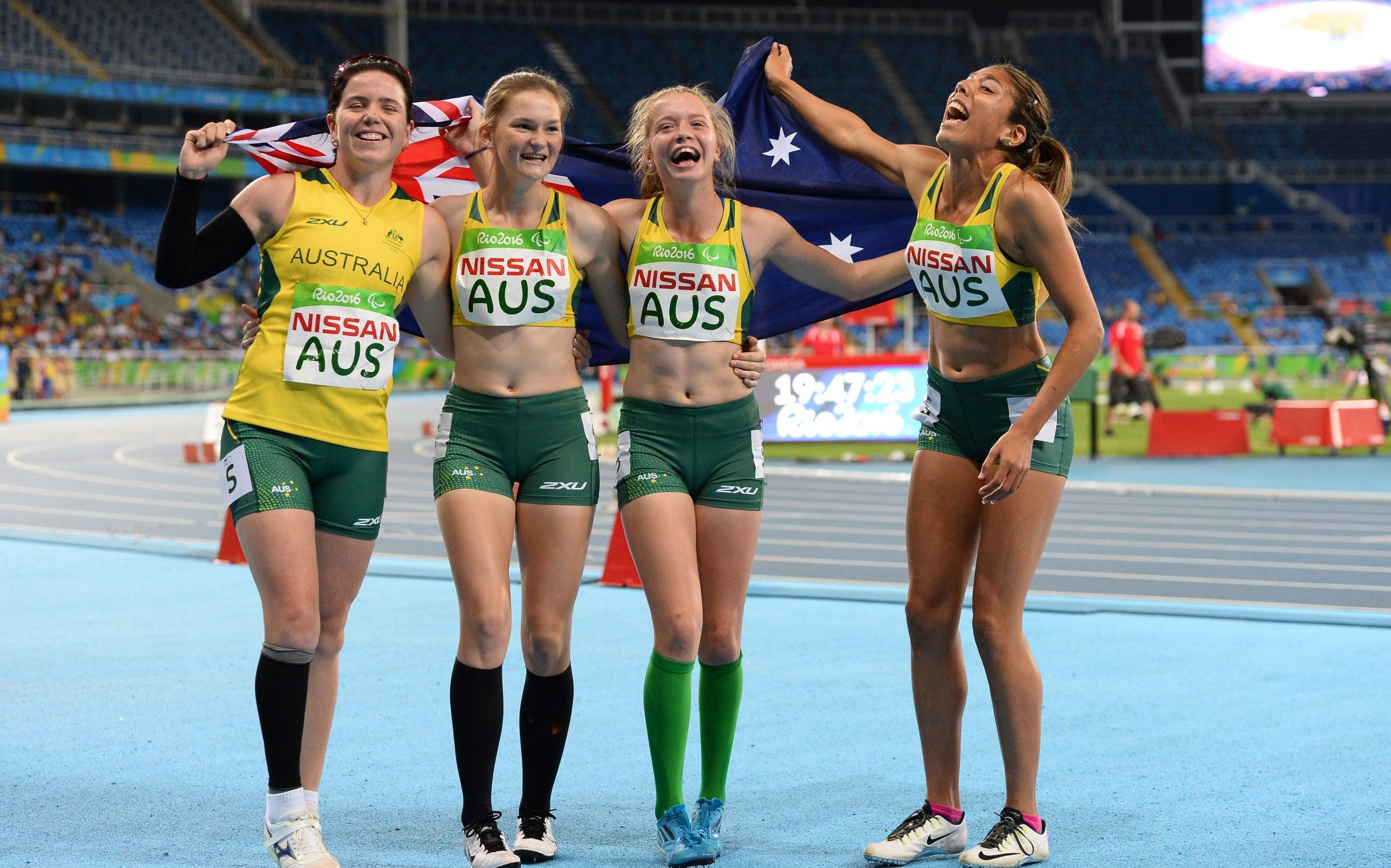 Cadbury is named the Official Chocolate Partner of ohe Australian Paralympic Team