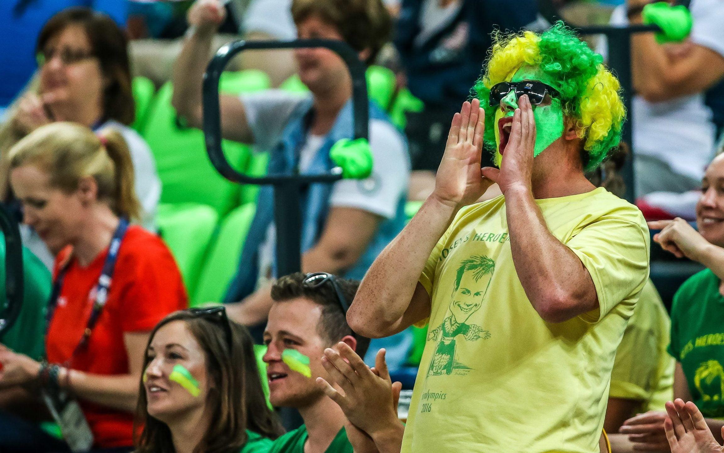 Calling Australian Para-sport fans to join our AUS squad