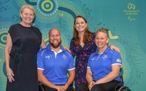 Image of 2020 Tokyo Australian Team Captains Ryley Batt and Danni Di Toro