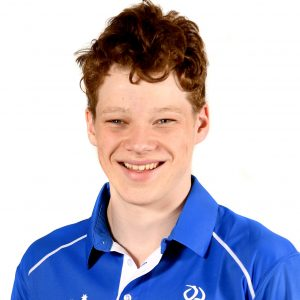 Portrait image of para-swimmer Ben Popham
