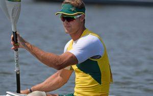 Image of Para-canoeist Curtis Mcgrath