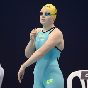 Image of para-swimmer Ruby Storm in her swimming gear