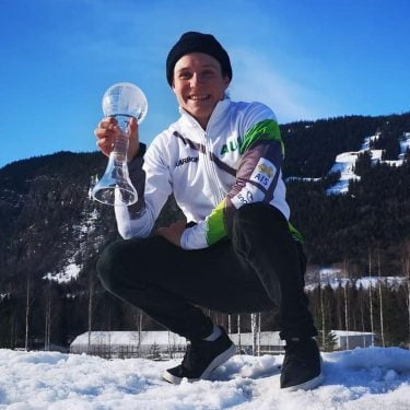 Tudhope claims first overall Crystal Globe