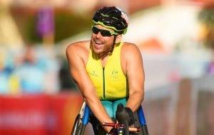 kurt fearnley smiling after a race
