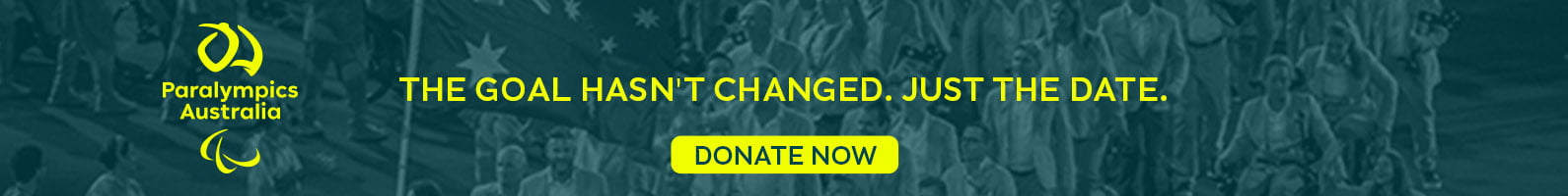 Donate now: the dream hasn't changed. Just the date.