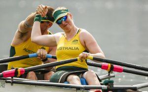 two australian rowers