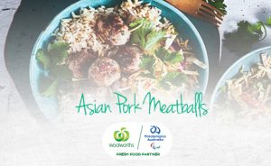 Image of Asian Pork Meatball with recipe