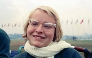 Image is of a female smiling.