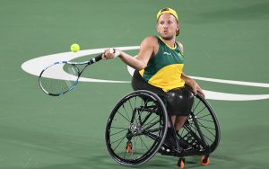 Australian Wheelchair tennis player Dylan Alcott