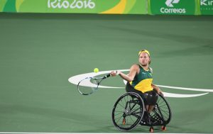 Australian Wheelchair tennis player Dylan Alcott