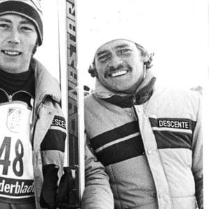 Ron Finneran at Paralympic winter games in 1980