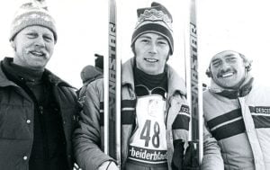 Ron Finneran and Blomvist and Grunnsund at Paralympic winter games