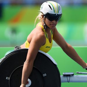 Image of Australian female Paralympian Madison de Rozario.