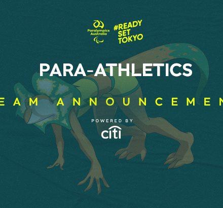 Para-athletics Team Set To 'Do What Australia Does Best' At Tokyo 2020
