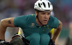 Australian Paralympian Greg Smith