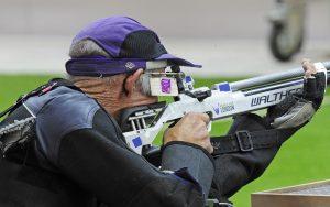 Paralympic shooter Ashley Adams