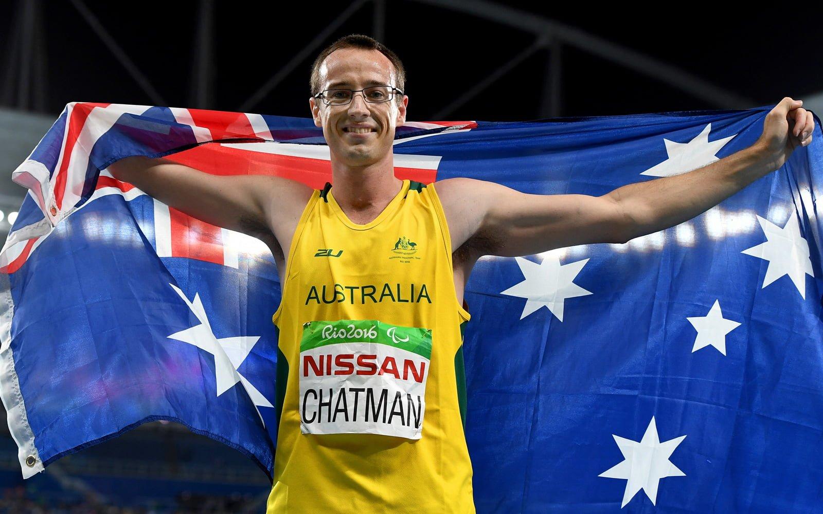 Paralympian Aaron Chatman Announces Retirement