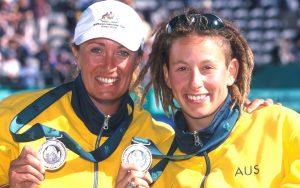 Sydney 2000 Paralympians Branka Pupovac and Danni Di Toro