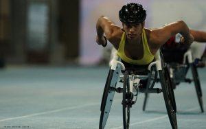 Australian wheelchair racer Madison de Rozario