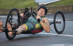 Australia Para-triathlete Nic Beveridge