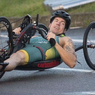 Para-triathletes Relish Newcastle Challenges