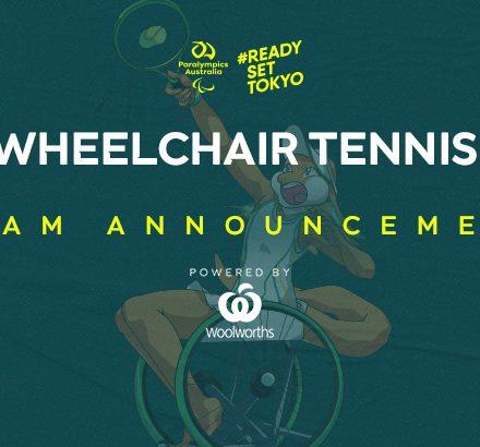 Australia's Wheelchair Tennis Quartet Confirmed For Tokyo 2020