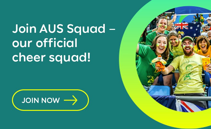 Join AUS Squad - our official cheer squad!