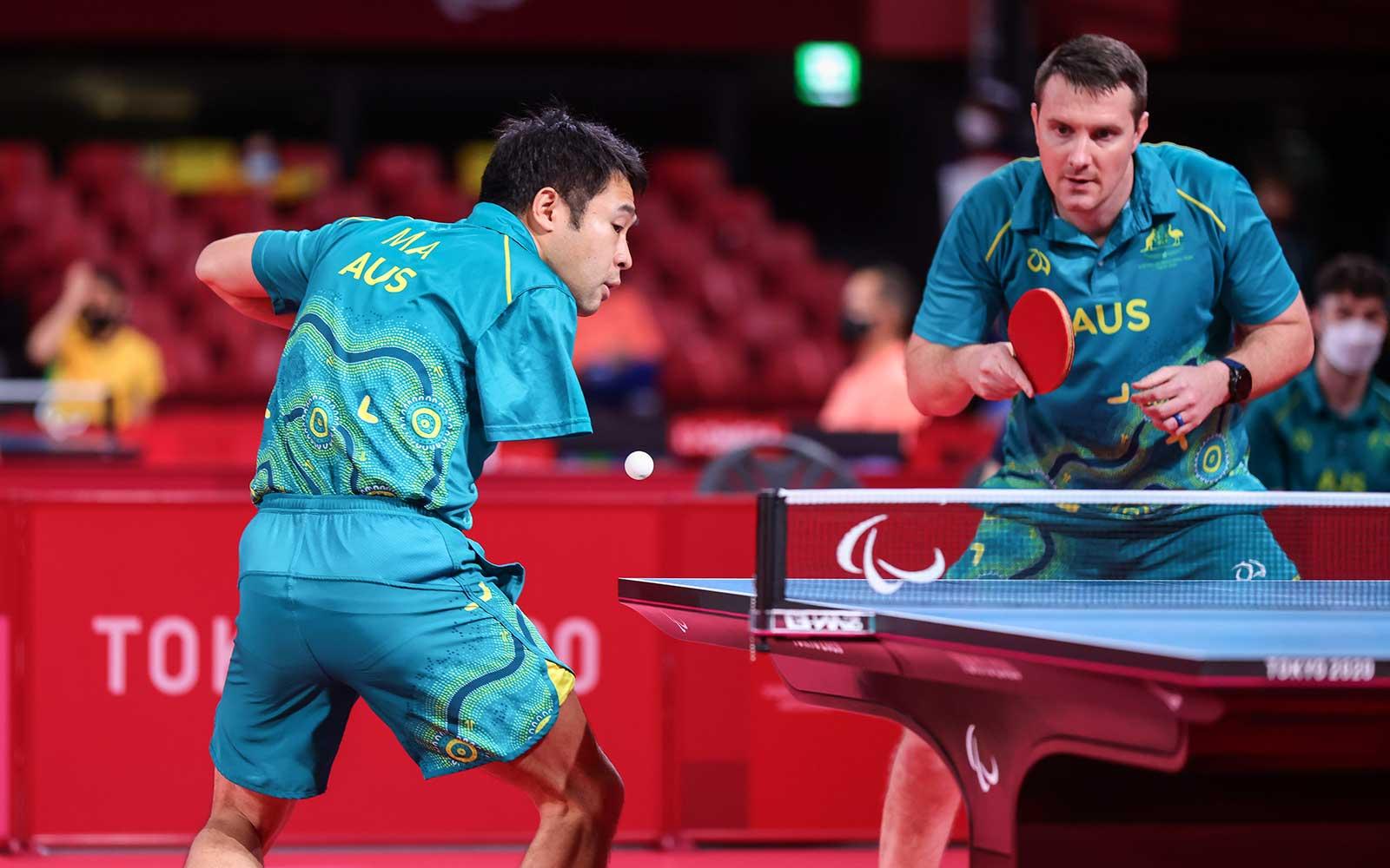 Australia To Break Para-Table Tennis Medal Record As Men's Team Secure Semi-Final Berth