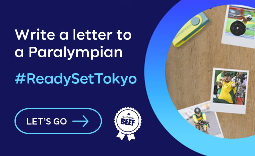 Write a letter to a Paralympian