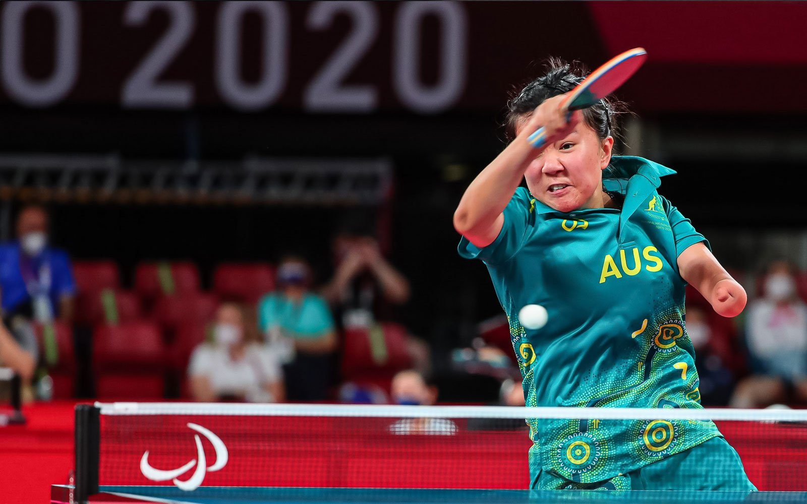 Big wins on opening day of Para-table tennis in Tokyo