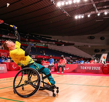 Not To Be For Para-Badminton Team