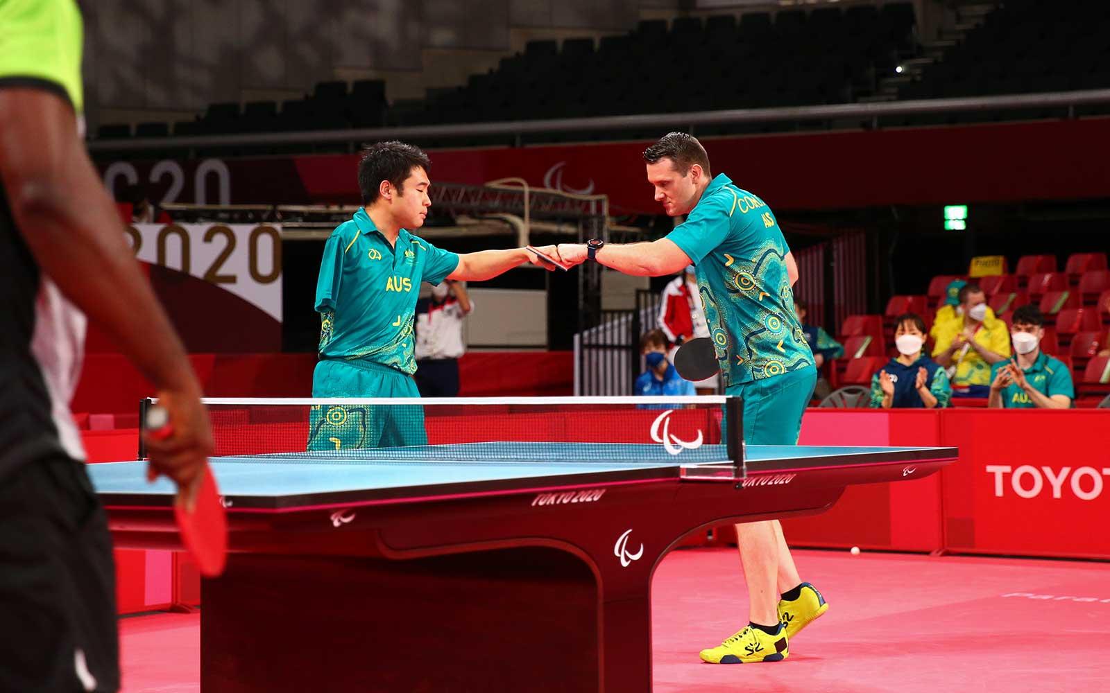 Aussie Para-Table Tennis Teams Book Gold Medal Playoffs