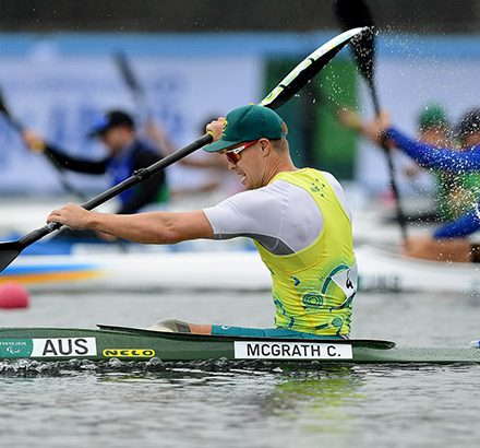 Medals Fall For Aussie Para-Canoe Stars