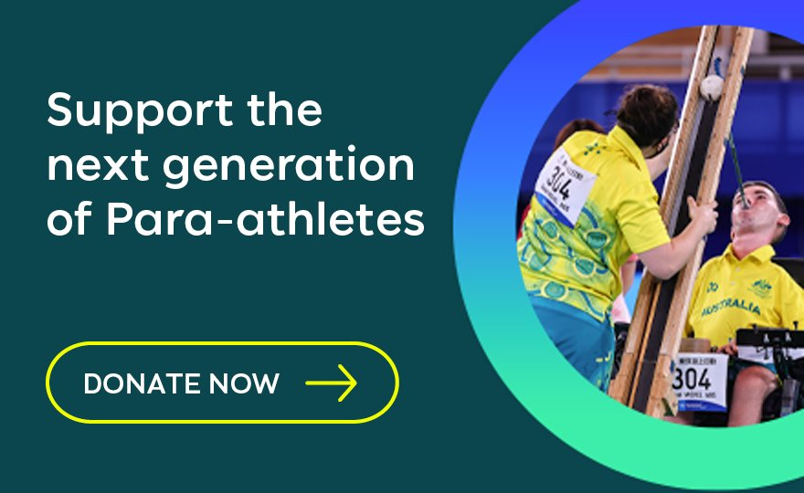 Support the next generation of Para-athletes